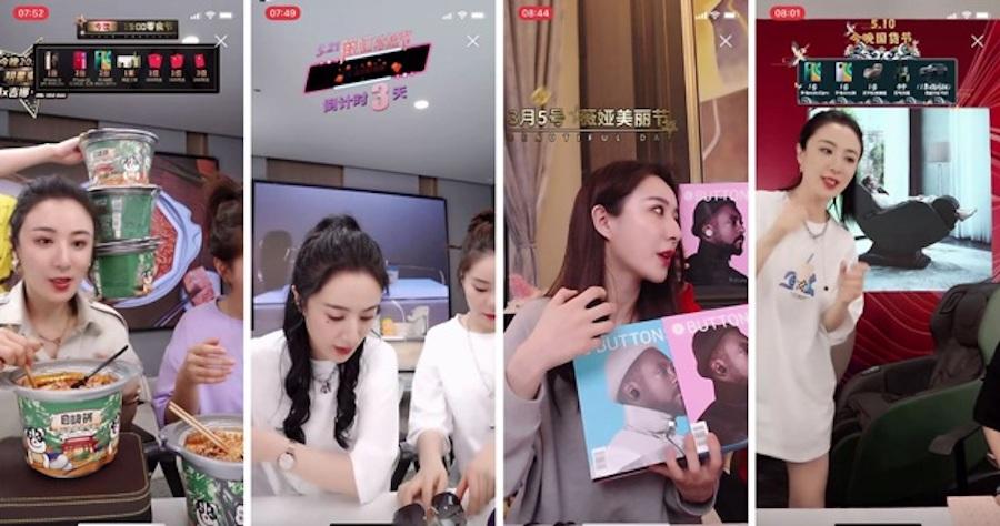 Cô nàng MC livestream nổi tiếng Trung Quốc bán gì hết đó