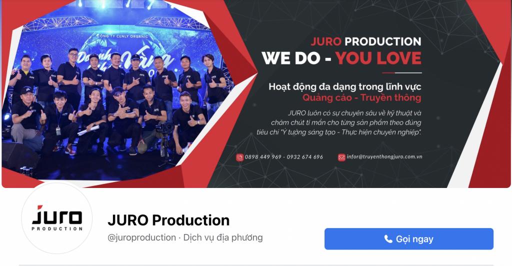 Facebook Juro Production