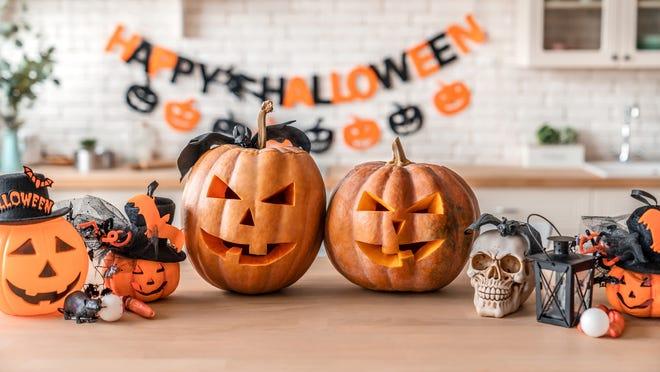 Chủ đề thật độc đáo trong đêm Halloween bằng các vật dụng quen thuộc