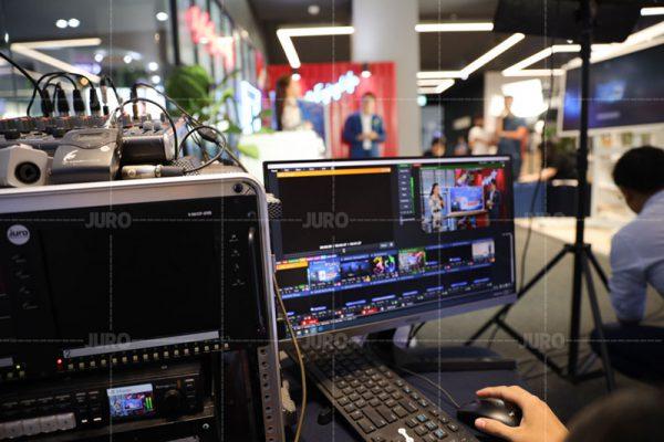 dịch vụ livestream của Công Ty Truyền Thông JURO