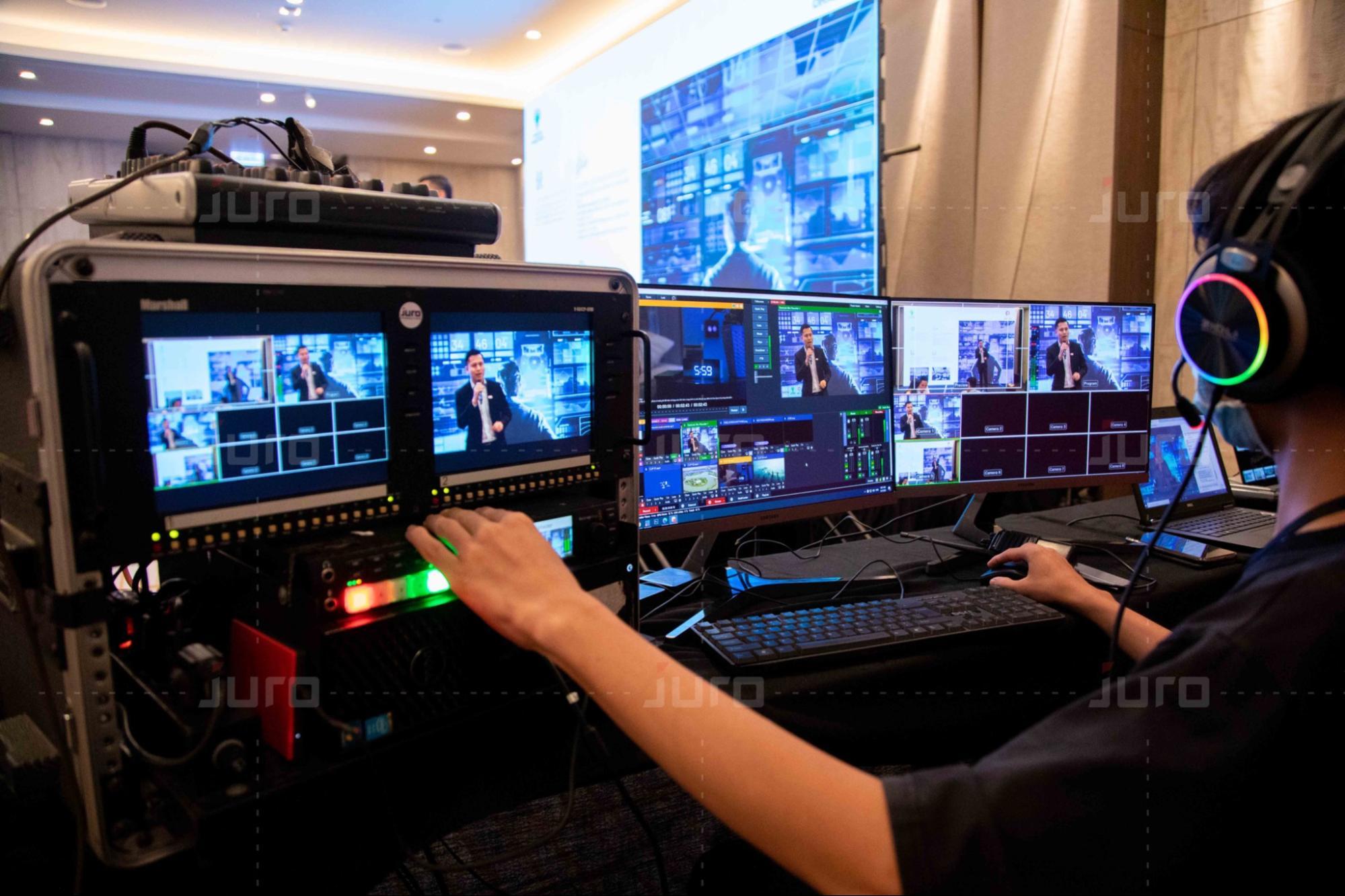 Dịch vụ Livestream chuyên nghiệp JURO Production