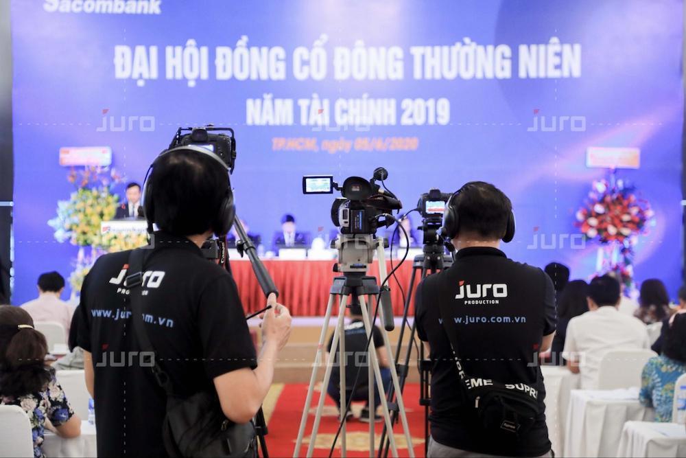 Đội ngũ JURO quay phim sự kiện chuyên nghiệp
