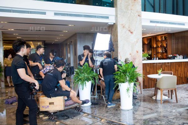 Đội ngũ quay phim sự kiện tại Juro