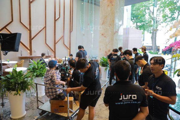 Đội ngũ tổ chức sự kiện tại Juro