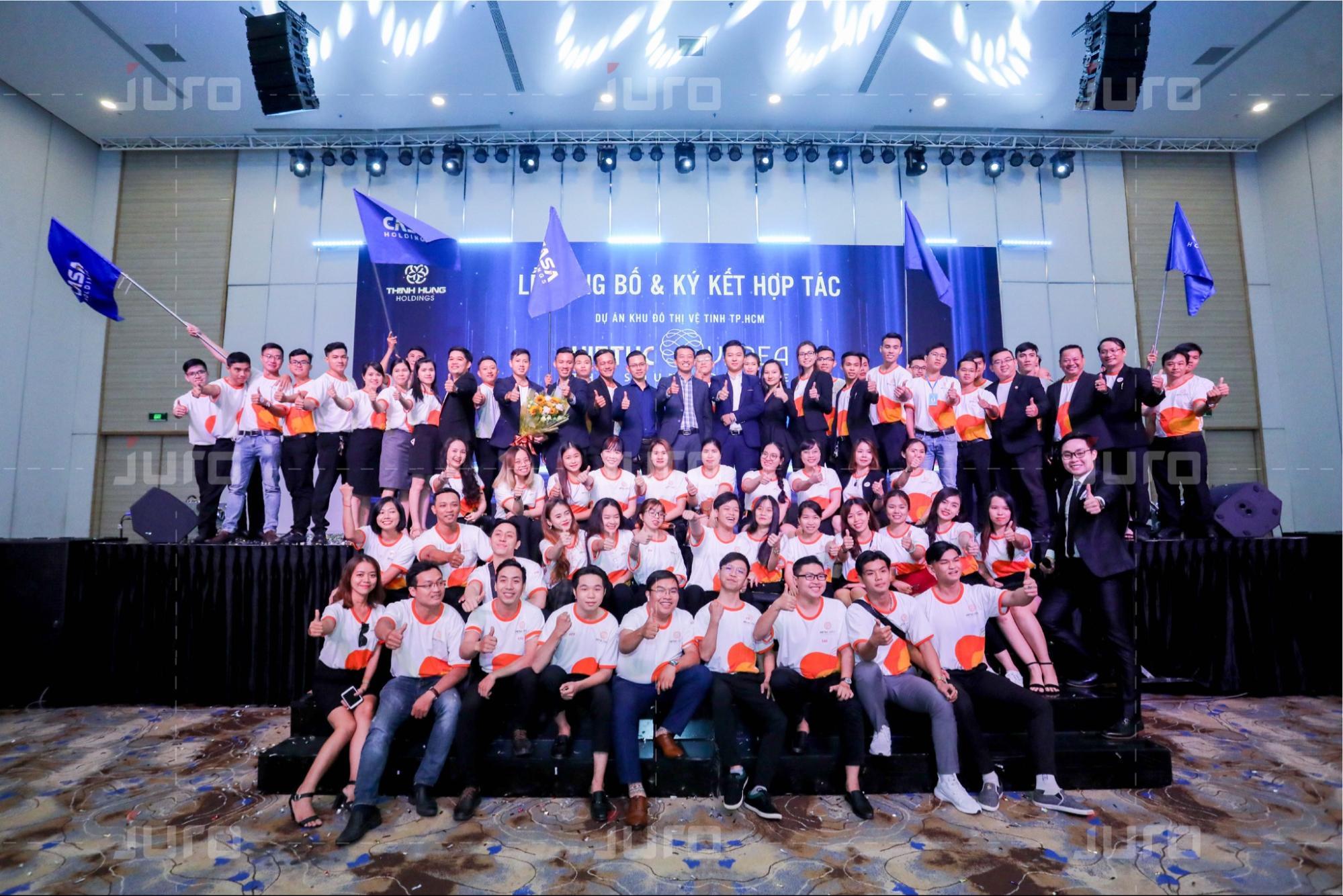 JURO - Đơn vị tổ chức sự kiện uy tín chuyên nghiệp tại TP.HCM