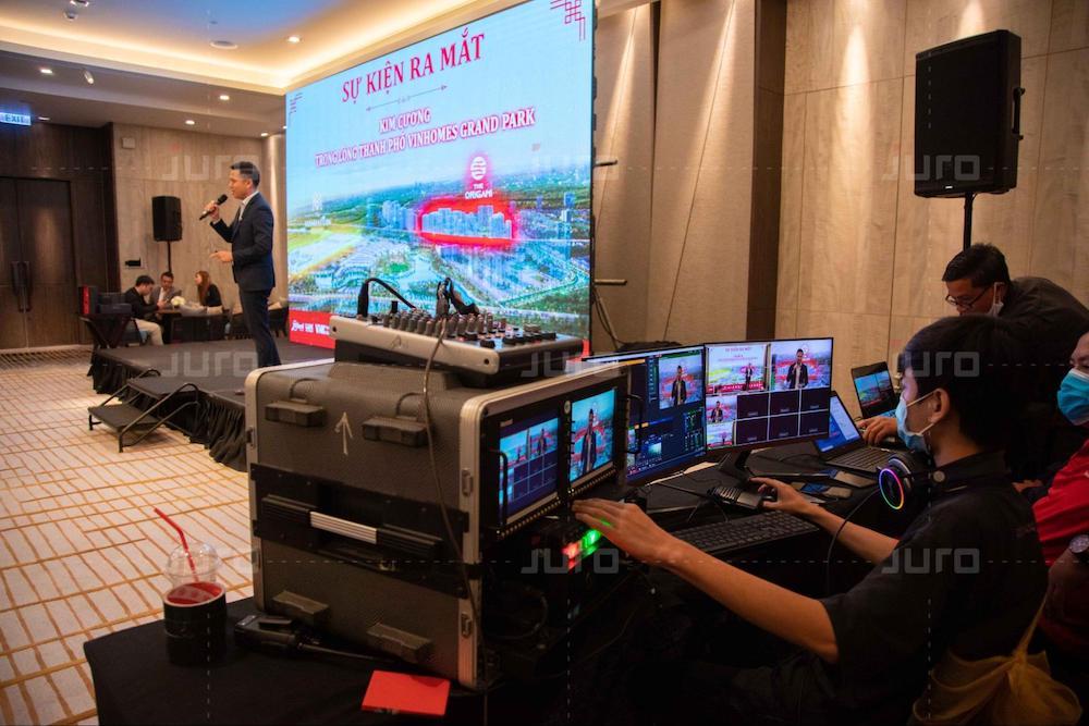 Juro đi đầu công nghệ livestream sự kiện ảo