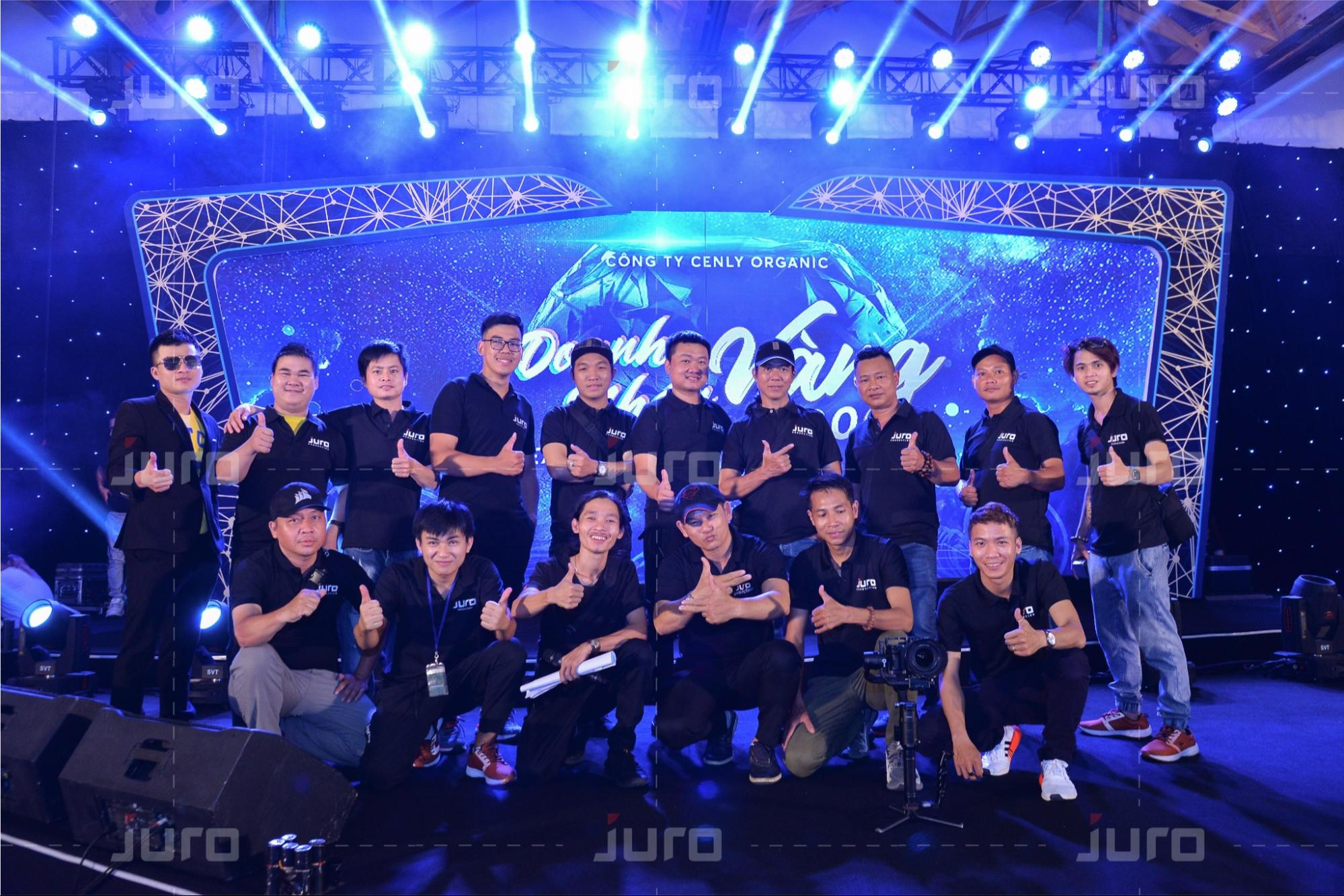Đội ngũ JURO Production cung cấp nhiều dịch vụ chuyên nghiệp