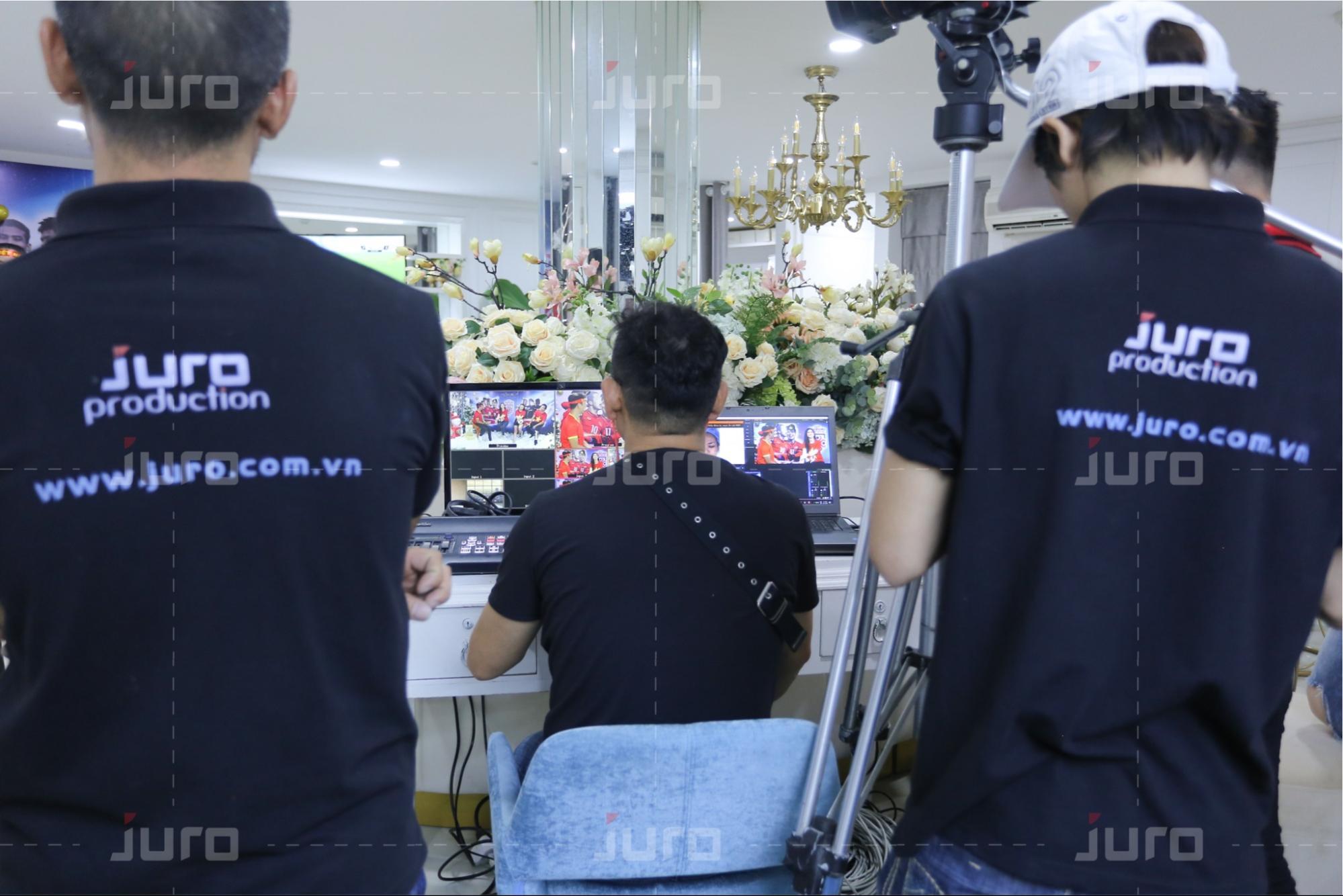 Đội ngũ JURO với những kỹ năng chuyên nghiệp trong ngành tổ chức sự kiện