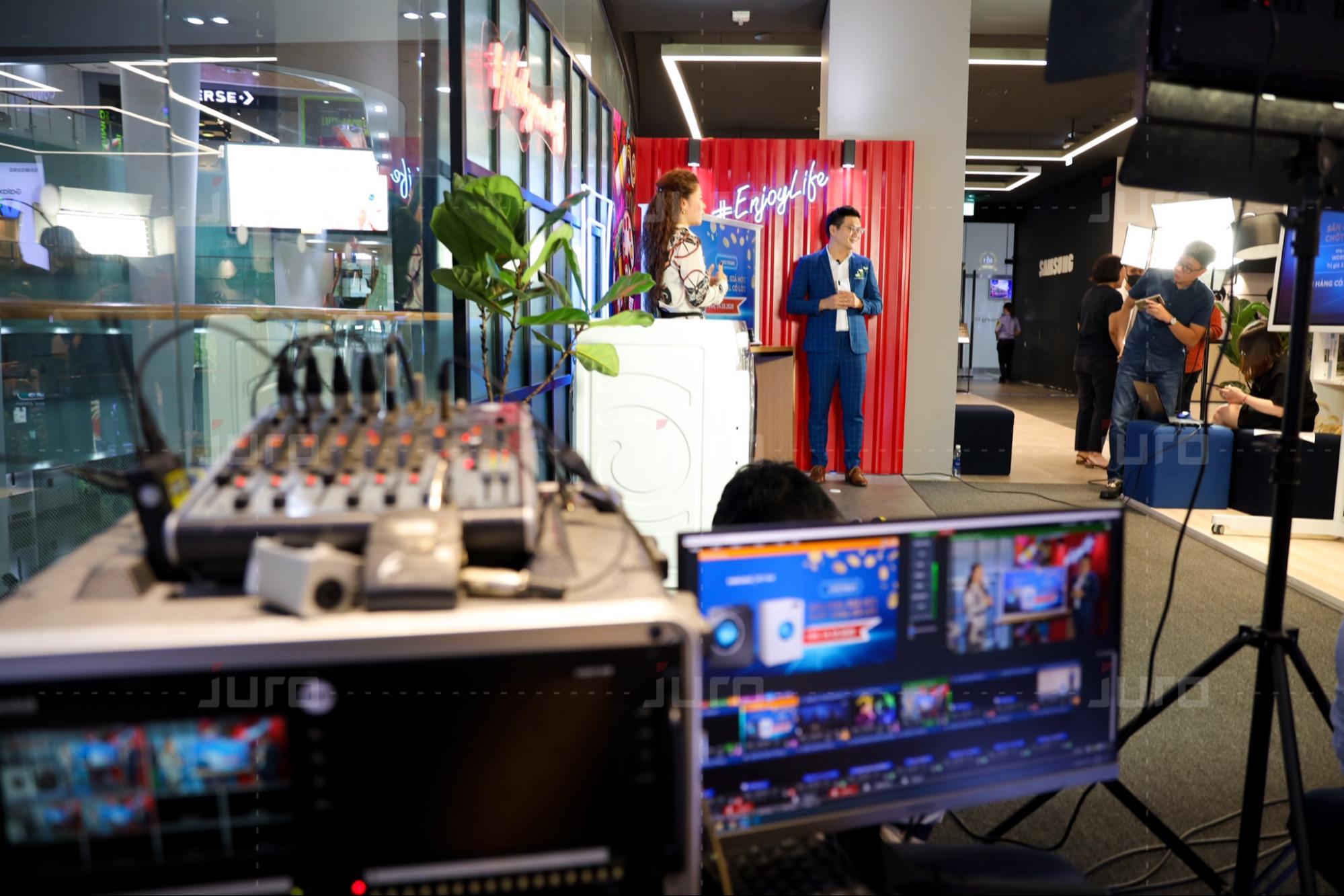 Dịch vụ Livestream chuyên nghiệp tại JURO