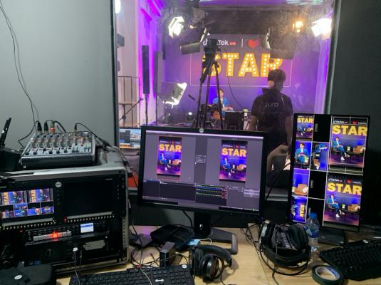Juro đã thực hiện thành công chương trình livestream sự kiện Tiktok Live Star