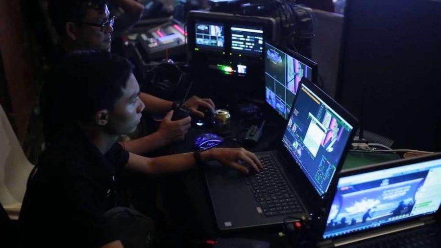 Trang thiết bị được đầu tư kỹ lưỡng cho mỗi chương trình livestream sự kiện